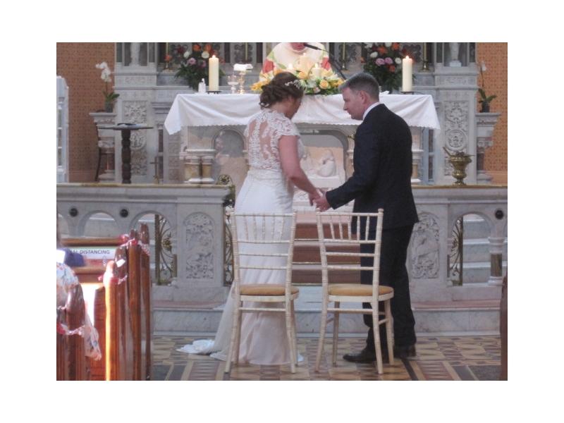 Chauffeur Luxury Wedding Car Offaly