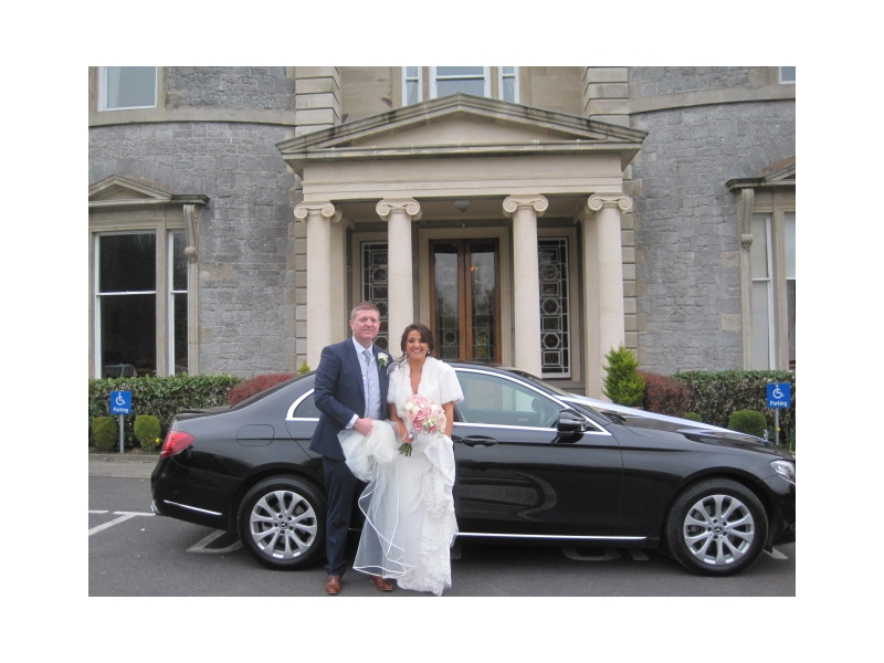 Luxury Wedding Car Bridge House Tullamore Co Offaly