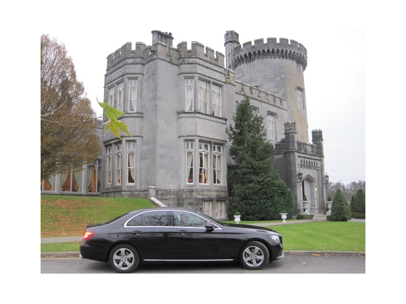 Luxury Wedding Car Dromoland Castle