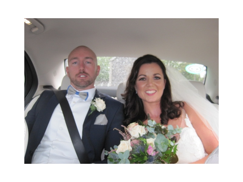Luxury Wedding Car Durrow Castle