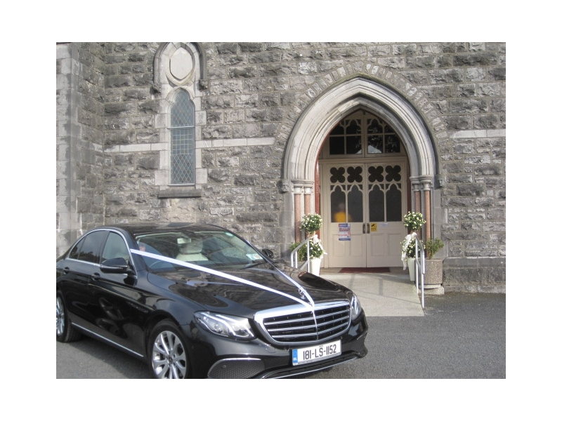 Luxury Wedding Car Durrow Castle Co Laois