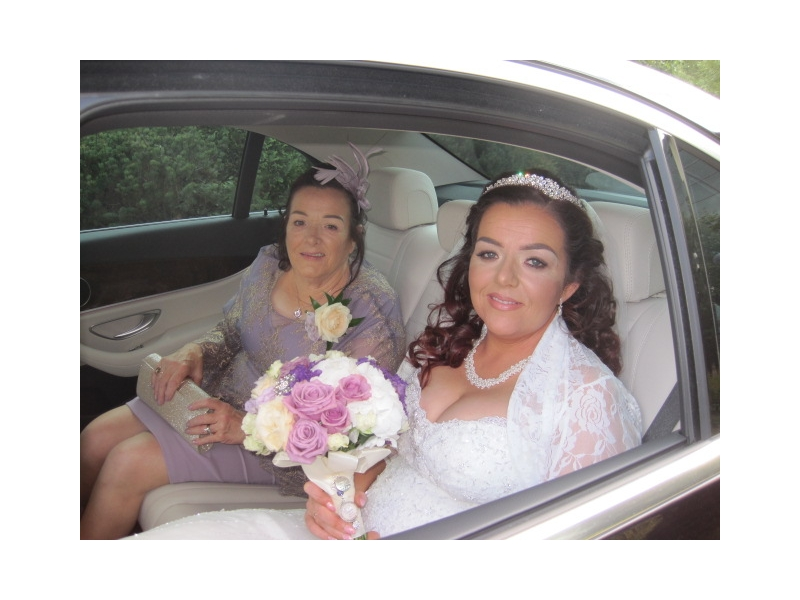 Luxury Wedding Car Tullamore Court Hotel