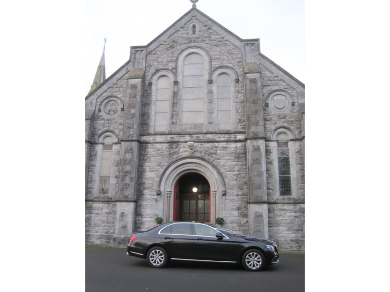 Wedding Car Durrow Castle